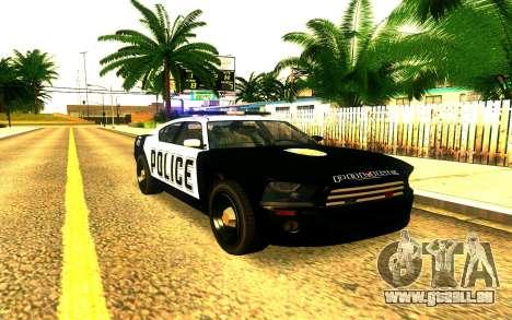 Police Buffalo GTA V für GTA San Andreas