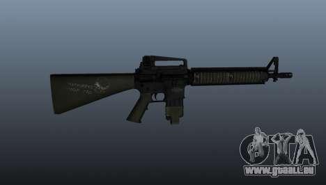 Le fusil d'assaut M16A4 pour GTA 4 troisième écran