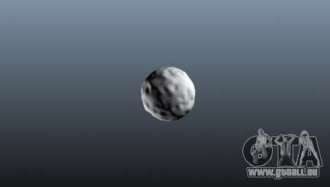Grenade boule de neige pour GTA 4 secondes d'écran