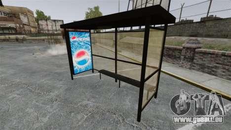 Neue Werbung an Bushaltestellen für GTA 4 fünften Screenshot