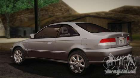 Honda Civic Si 1999 Coupe für GTA San Andreas linke Ansicht