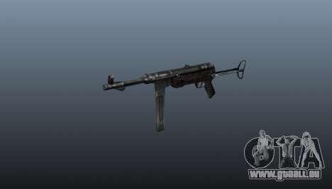 MP 40 Maschinenpistole für GTA 4