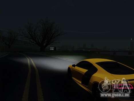 Audi R8 V10 Plus für GTA San Andreas rechten Ansicht