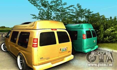 GMC Savana für GTA San Andreas Seitenansicht