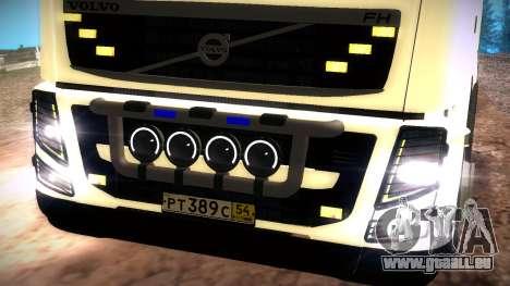 Volvo FH16 pour GTA San Andreas vue arrière