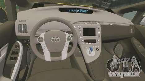 Toyota Prius 2011 Adelaide Taxi für GTA 4 Seitenansicht