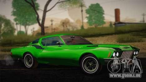 Buick Riviera 1972 Carbine Version pour GTA San Andreas vue de droite