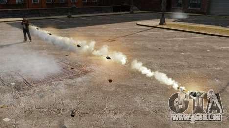 Tir de roquettes pour GTA 4 cinquième écran