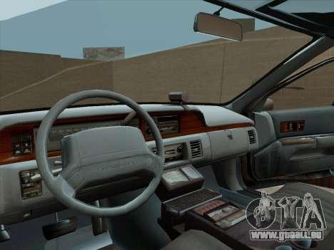 Chevrolet Caprice LAPD 1991 pour GTA San Andreas vue de droite