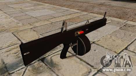 L'AA-12 shotgun pour GTA 4 secondes d'écran