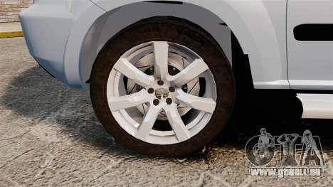 Nissan X-Trail für GTA 4 Rückansicht