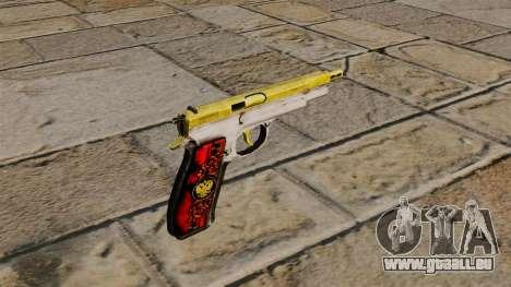 Le nouveau pistolet CZ75 pour GTA 4 secondes d'écran