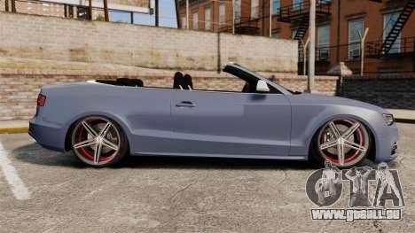 Audi S5 Convertible 2012 für GTA 4 linke Ansicht