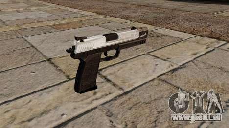 HK USP Pistole Match für GTA 4 Sekunden Bildschirm