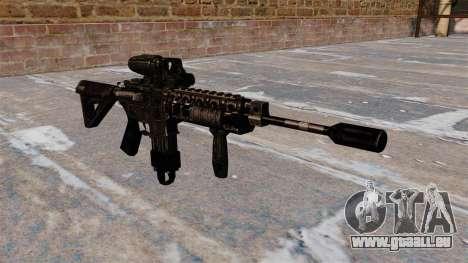 Automatique M4 carbine hybride portée pour GTA 4