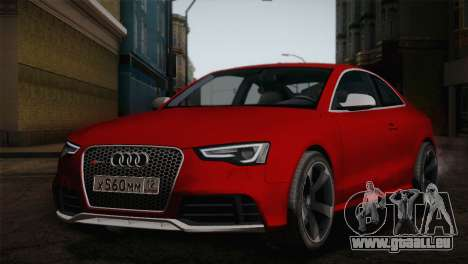 Audi RS5 2012 pour GTA San Andreas