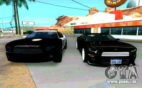 Police Buffalo GTA V für GTA San Andreas rechten Ansicht