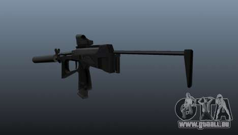 Pistolet mitrailleur pp-2000 v1 pour GTA 4 secondes d'écran
