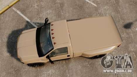 Ford F-350 Pitbull pour GTA 4 est un droit