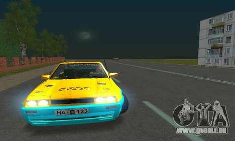 Opel Manta Mattig Extreme pour GTA San Andreas vue intérieure