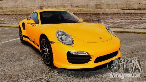 Porsche 911 Turbo 2014 [EPM] Turbo Side Stripes pour GTA 4