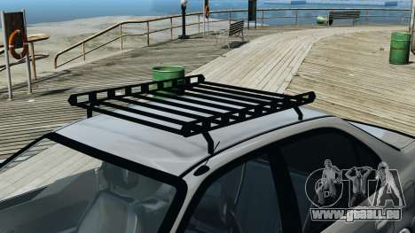 Honda Civic 1.6i ES pour GTA 4 est une vue de l'intérieur
