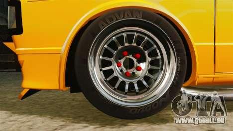 Volkswagen Caddy pour GTA 4 Vue arrière
