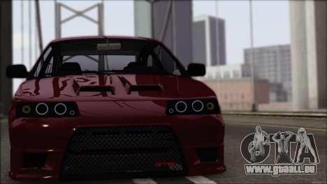 VAZ-2112 Sports pour GTA San Andreas laissé vue