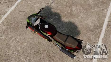 GTA IV TLAD Hakuchou pour GTA 4 Vue arrière de la gauche
