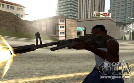 M60E4 pour GTA San Andreas