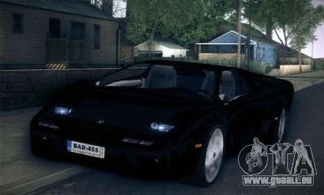 Lamborghini Diablo VT6.0 für GTA San Andreas rechten Ansicht