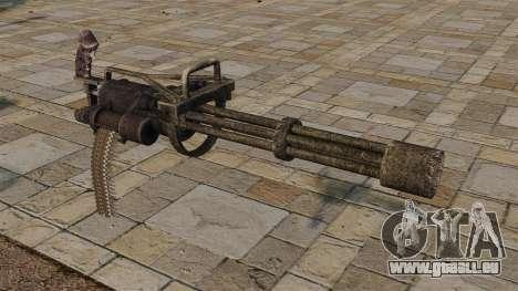 Minigun pour GTA 4