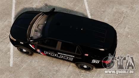 Ford Explorer 2013 Utility - Slicktop [ELS] pour GTA 4 est un droit