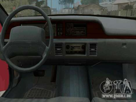Chevrolet Caprice 1991 für GTA San Andreas Seitenansicht