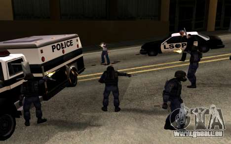 SWAT de Manhunt 2 pour GTA San Andreas deuxième écran