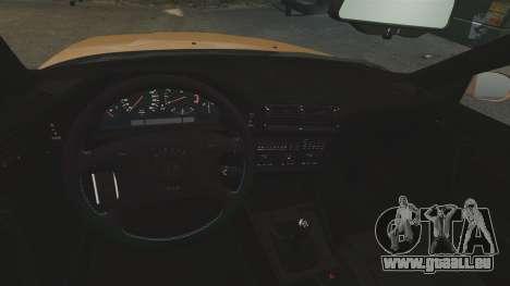 BMW M5 1995 für GTA 4 Innenansicht