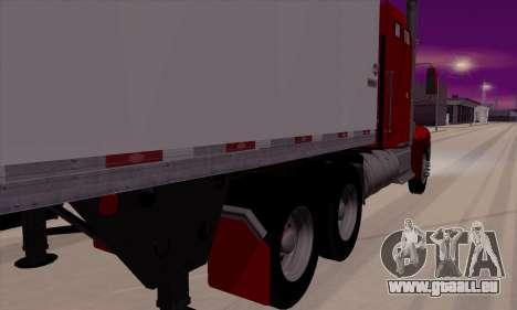 International 9400i Flattop pour GTA San Andreas sur la vue arrière gauche