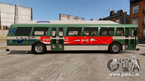 Véritable publicité sur les taxis et les bus pour GTA 4 troisième écran