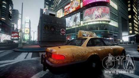 Ultimate Graphics pour GTA 4 secondes d'écran