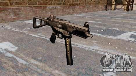 Pistolet mitrailleur HK UMP pour GTA 4