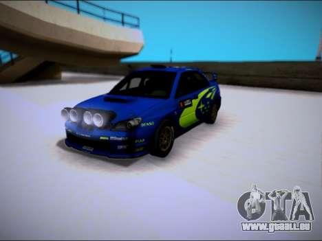 Subaru Impreza WRX STI WRC pour GTA San Andreas