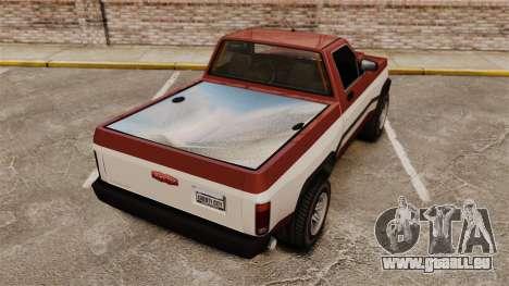 Declasse Rancher 1998 v2.0 pour GTA 4 Vue arrière de la gauche