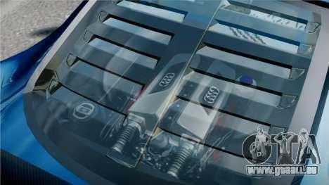 Audi R8 LMS für GTA 4 obere Ansicht
