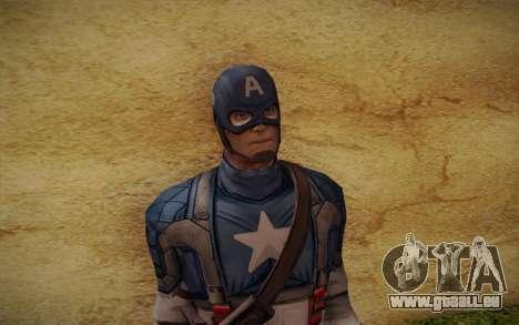Captain America: First Avenger für GTA San Andreas dritten Screenshot