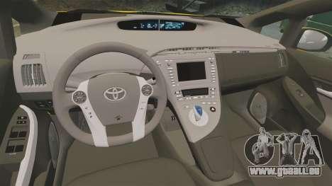 Toyota Prius 2011 Warsaw Taxi v2 pour GTA 4 est un côté