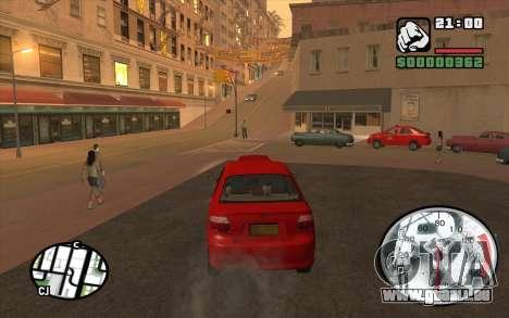 Speedometr da Rockstar pour GTA San Andreas troisième écran