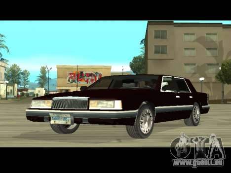 Willard HD (Dodge dynasty) für GTA San Andreas linke Ansicht