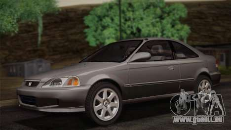 Honda Civic Si 1999 Coupe für GTA San Andreas