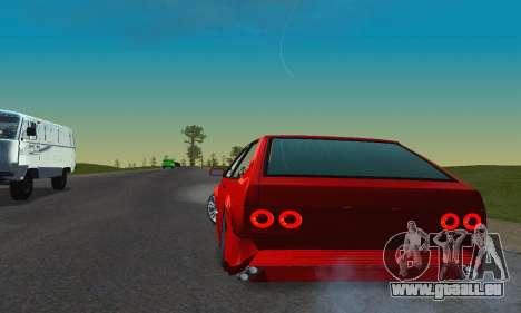 VAZ 2108 TAMR Style pour GTA San Andreas vue intérieure