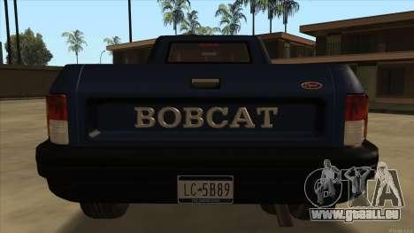 Bobcat HD from GTA 3 für GTA San Andreas rechten Ansicht